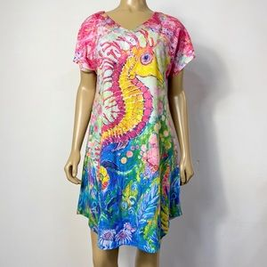 Leona Lovegrove wearable art womens seahorse dress